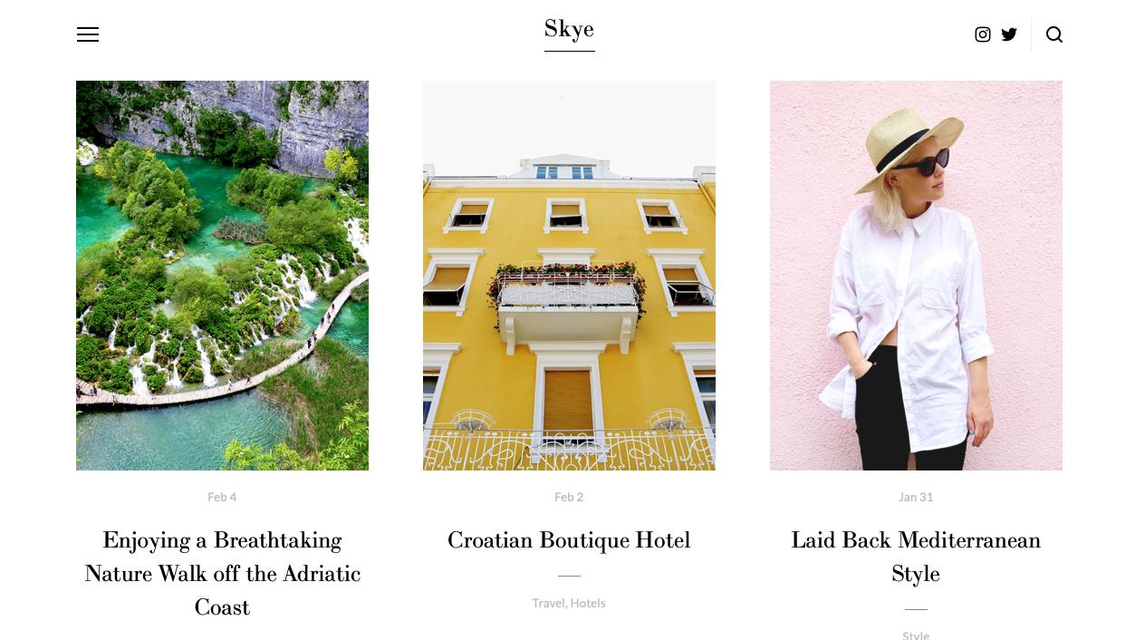 Copy of Travel Blog Template - Squarespace