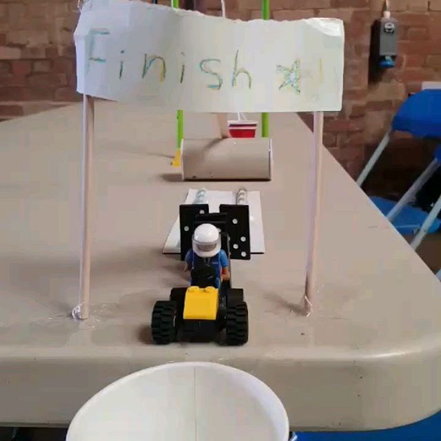 Last chance to get curiously creative @railwaymuseum tomorrow as we come to the end of our fabulous summer STEM programme.  Head down at 11,12&1 to catch Ash and her Rube Goldberg Machines.