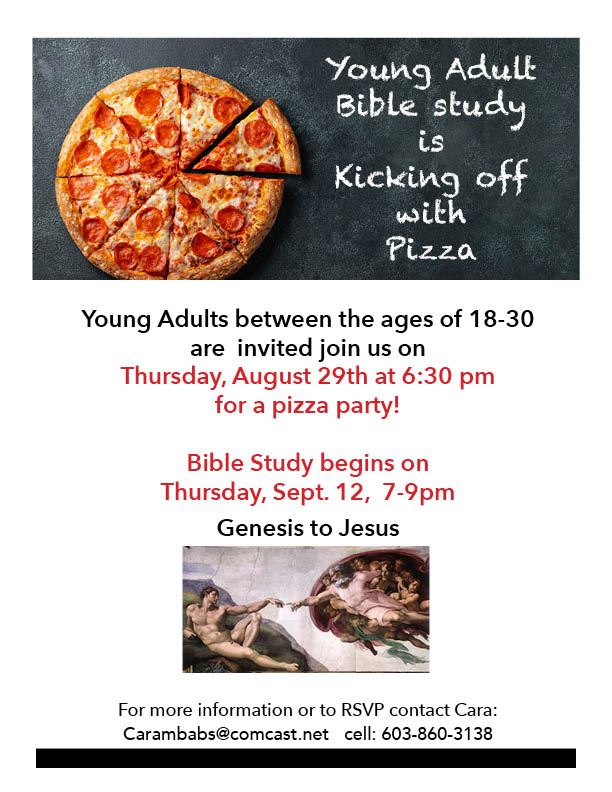 Young Adult Pizza party