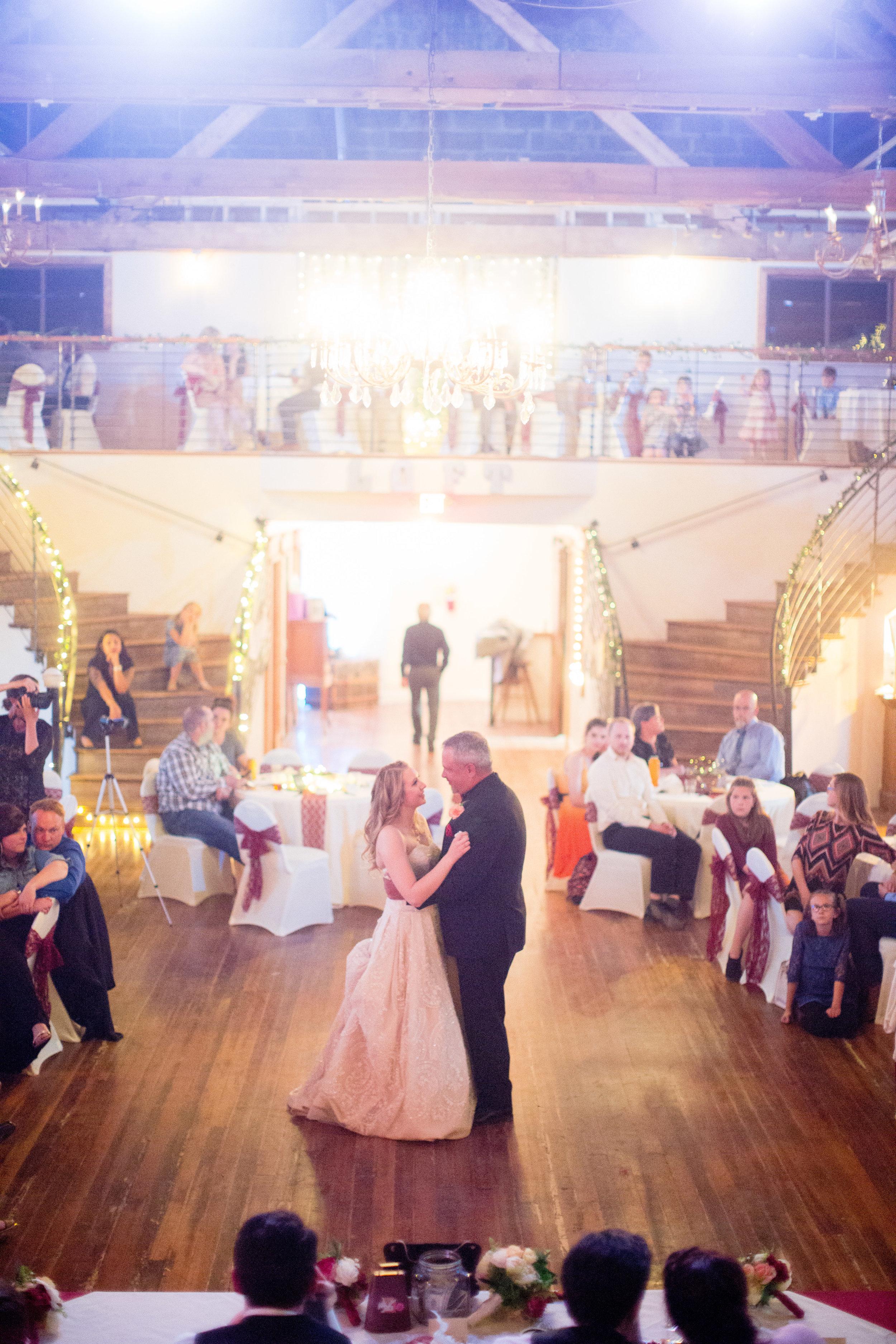 WEDDING AT THE LOFT ORPHEUM THEATER AT BV