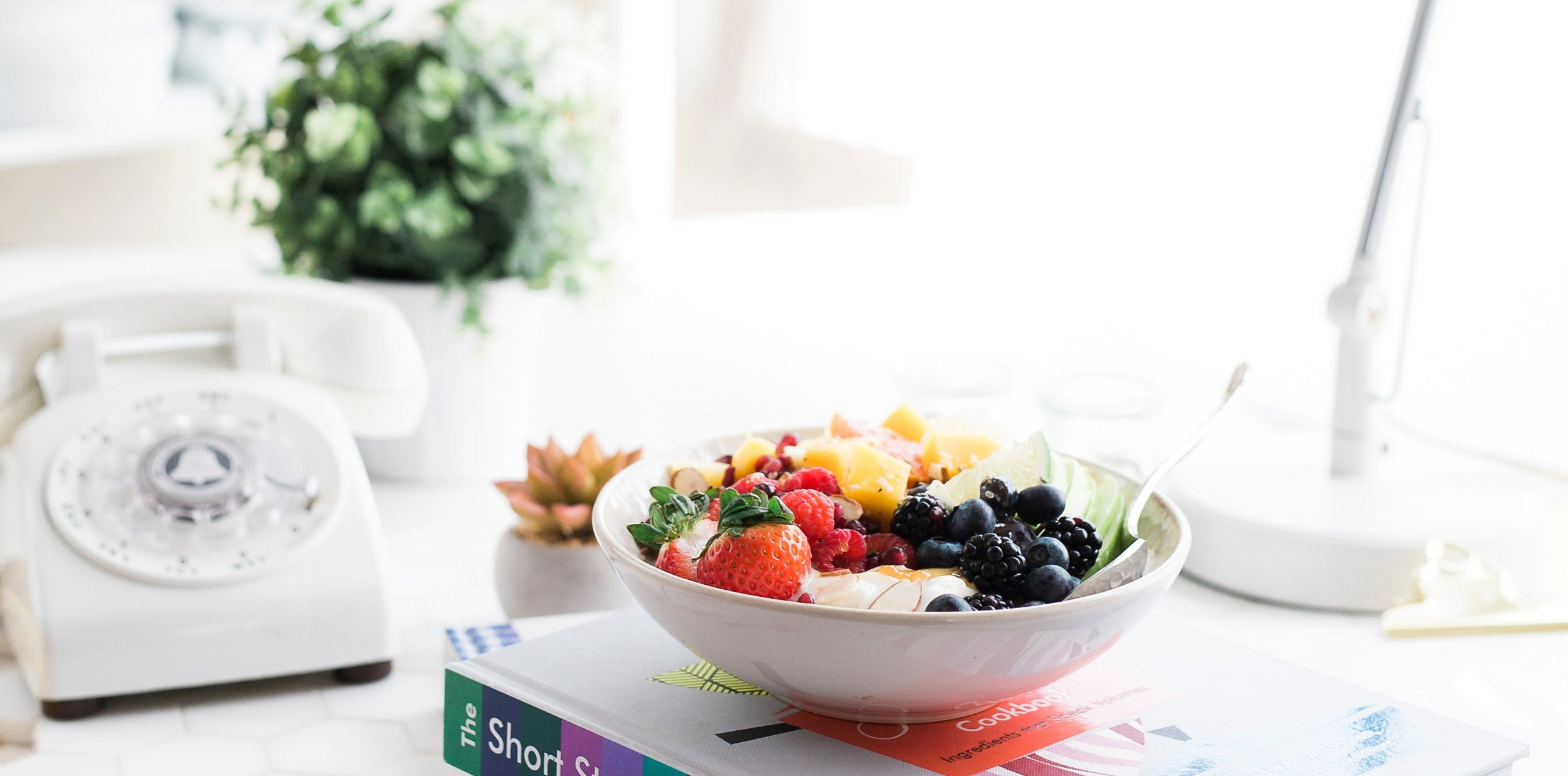 Tam John , founder of the  EatRight-LiveWell  holistic system for  smarter self care  encourages simple salads made with just a few of the freshest most tender ingredients. Try the Berry Green Salad featured in  A Fresh Wellness Mindset .   Photo by Mike Kenneally on Unsplash