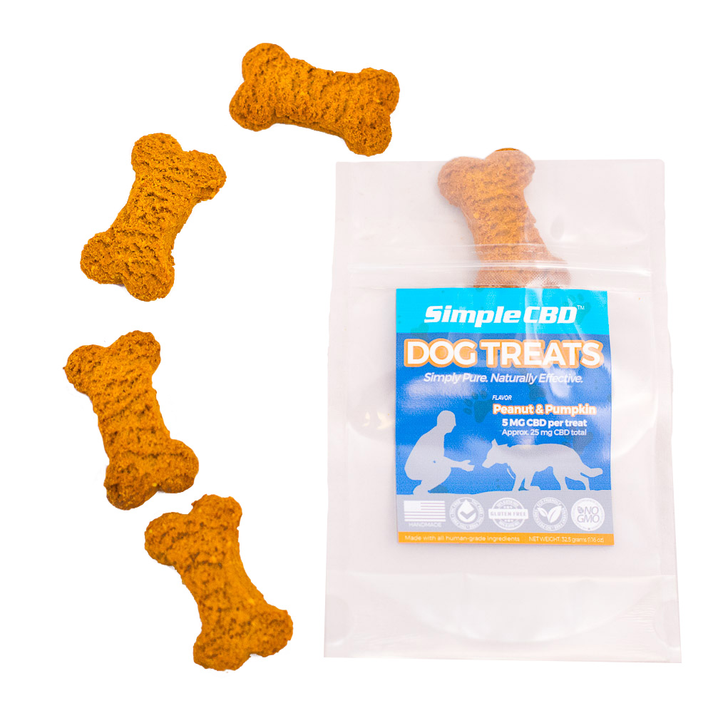 5 ct. 5mg CBD Dog Treats