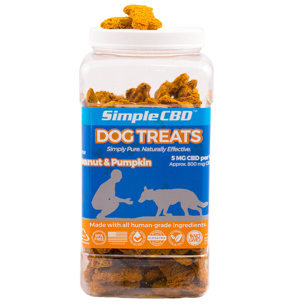 2 Pound Tub Dog Treats