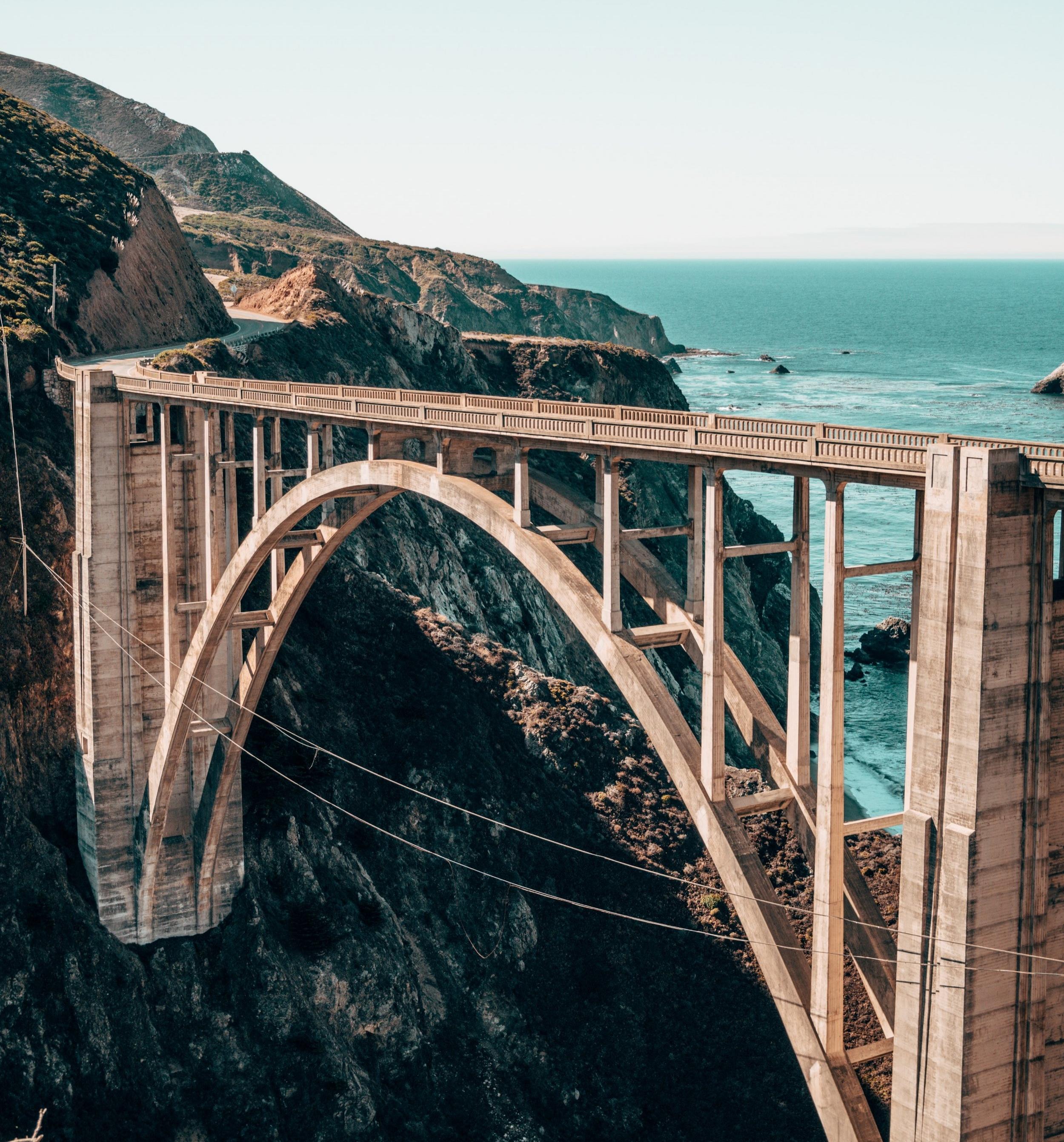 bridge with arch