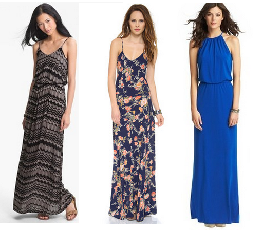 Sadly, these dresses are most likely no longer available, but they are from (L-R) Nordstrom, ShopBop, and Loft