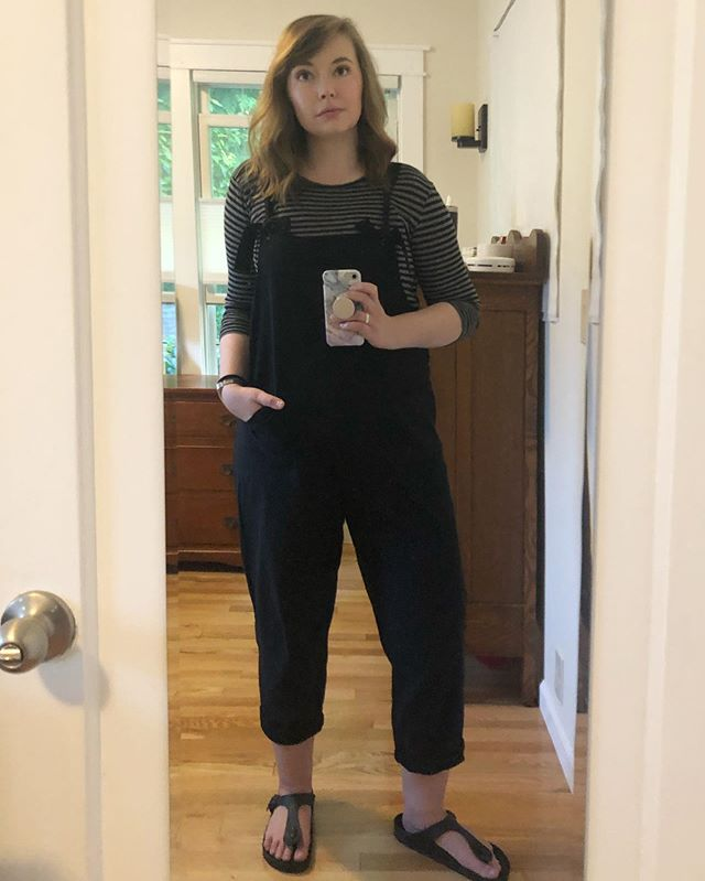 I didn't intend to dress like a goth toddler today, but the Dark Lord works in mysterious ways.