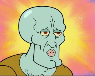 This is what I think I look like with the bubble mask on. The brain is a mystery.