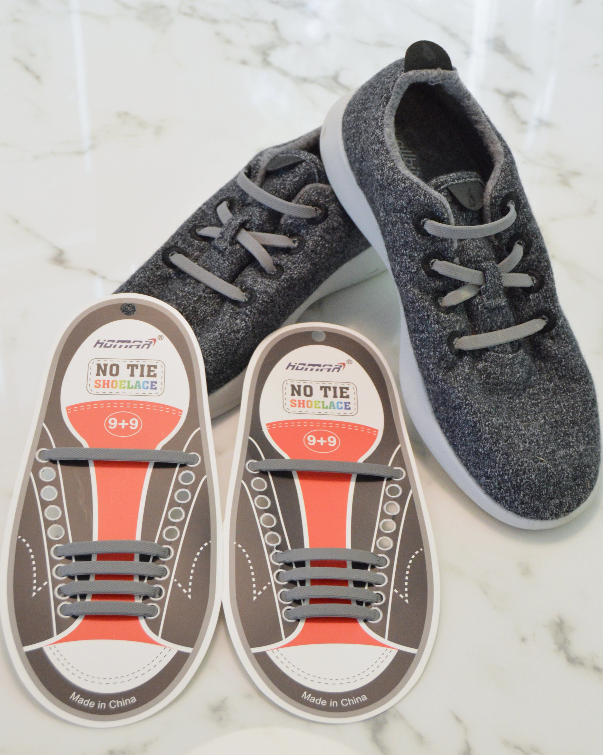 No-Tie Shoelaces