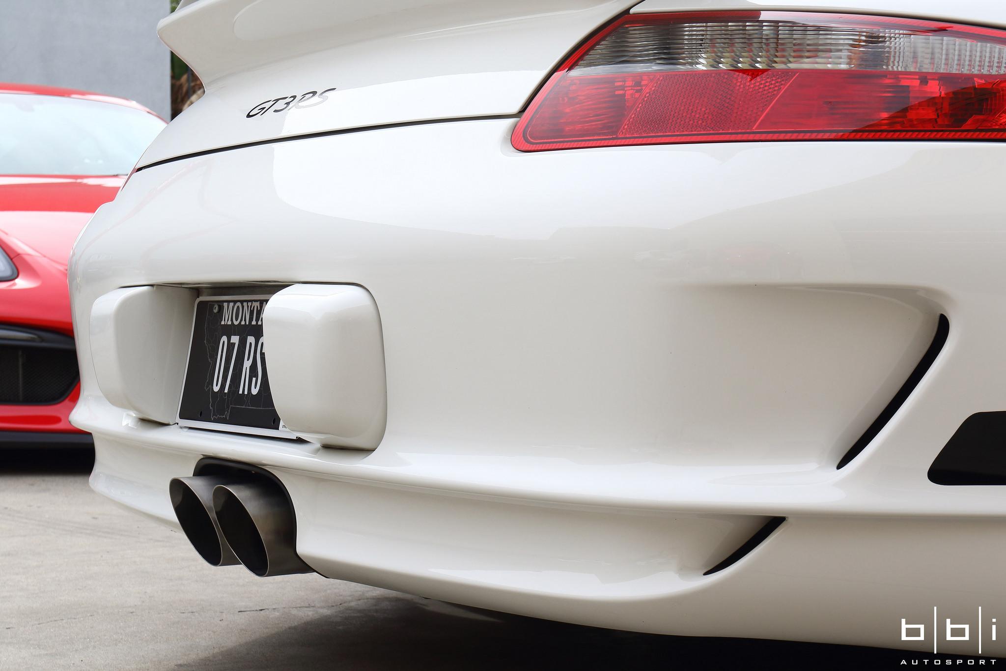 997 GT3 StreetCup Exhaust Center