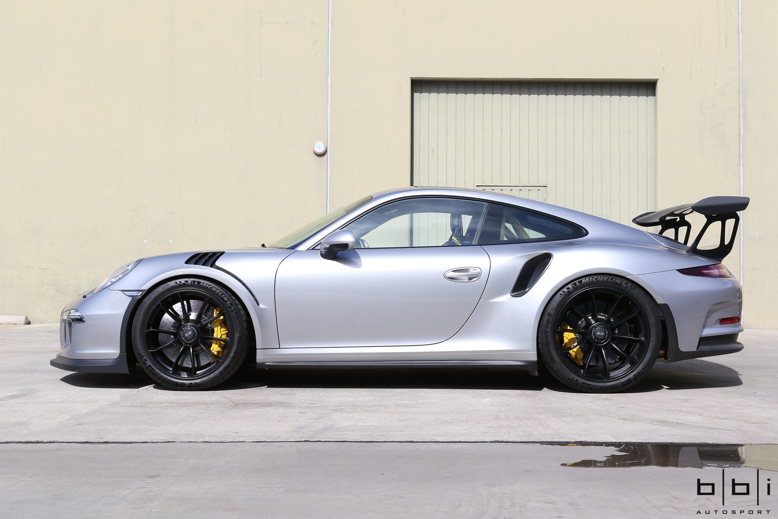 Copy of BBi Porsche 991 GT3 Street Cup Spring Upgrade Package