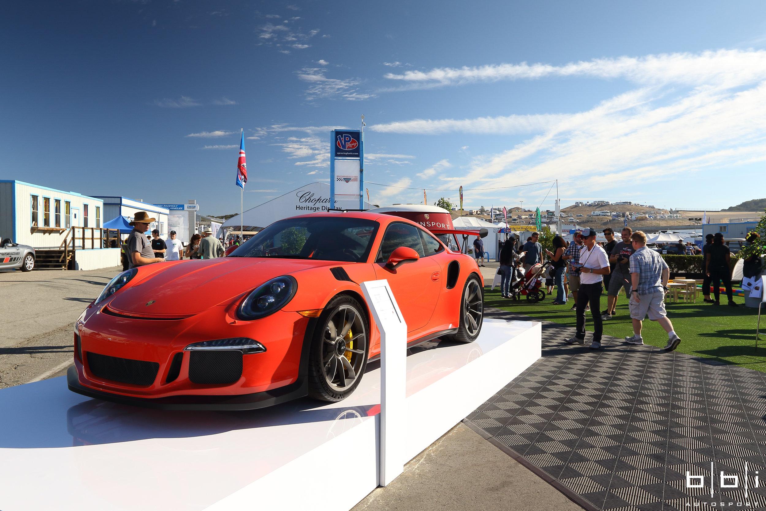 Lava Orange Porsche 991 GT3 RS