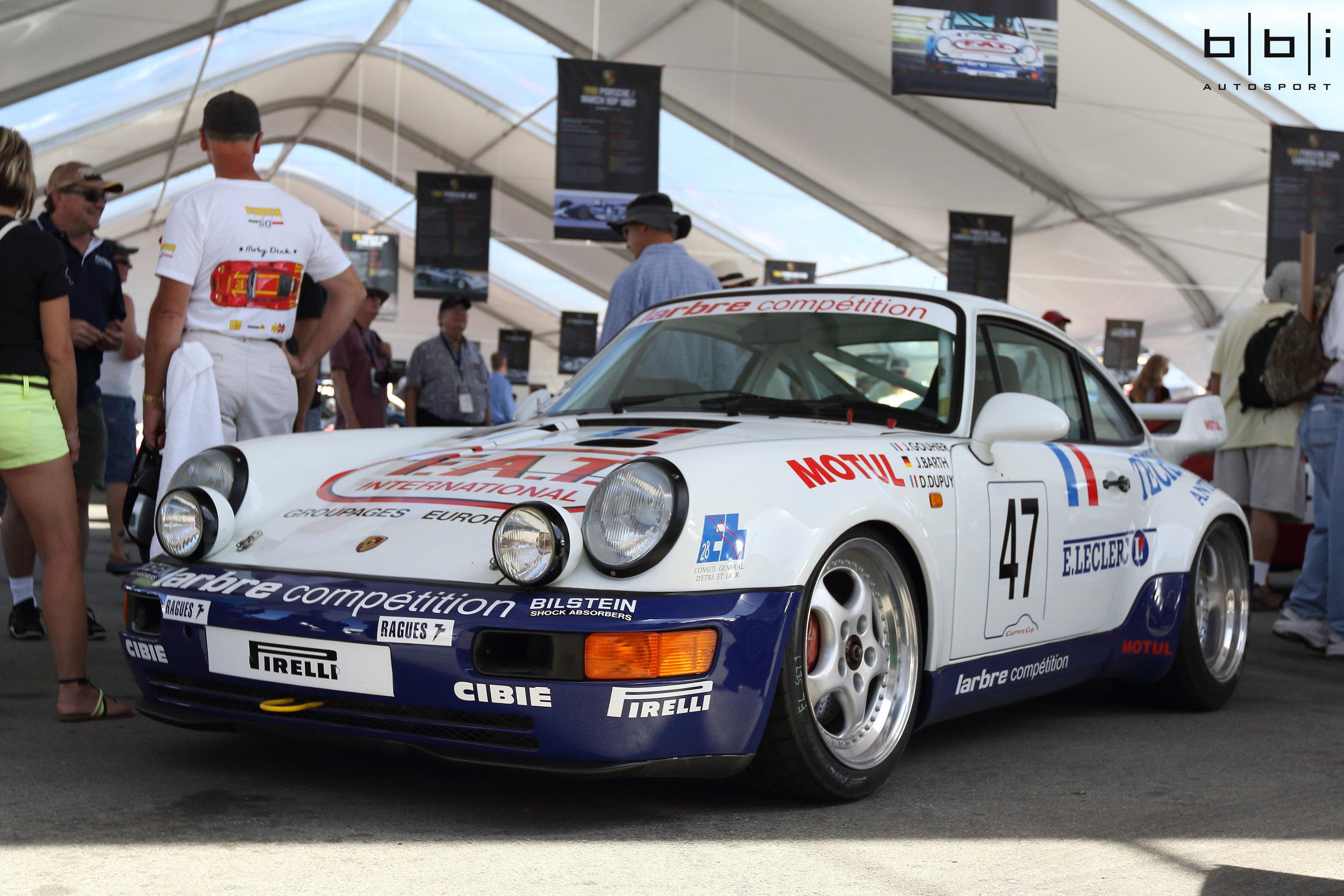 On Display Under Chopard Heritage Tent at Porsche Rennsport Reunion V