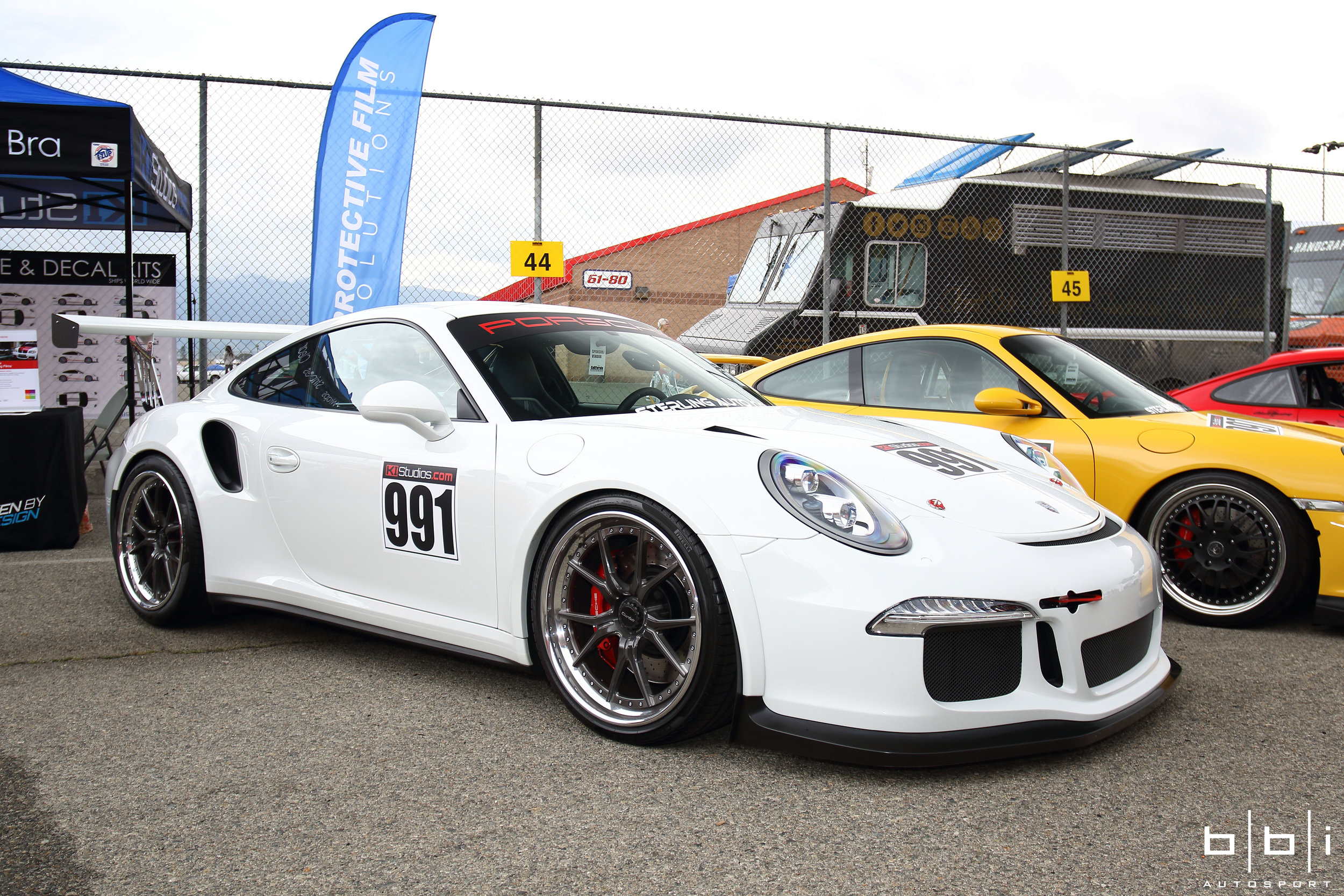 Sterling Auto Porsche 991 Turbo with GT3 Cup Aero