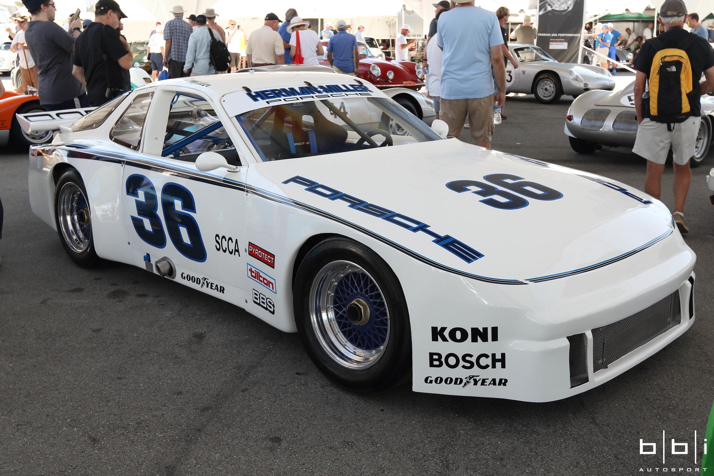#36 Herman Miller Porsche 924 Carrera GTR Trans-Am