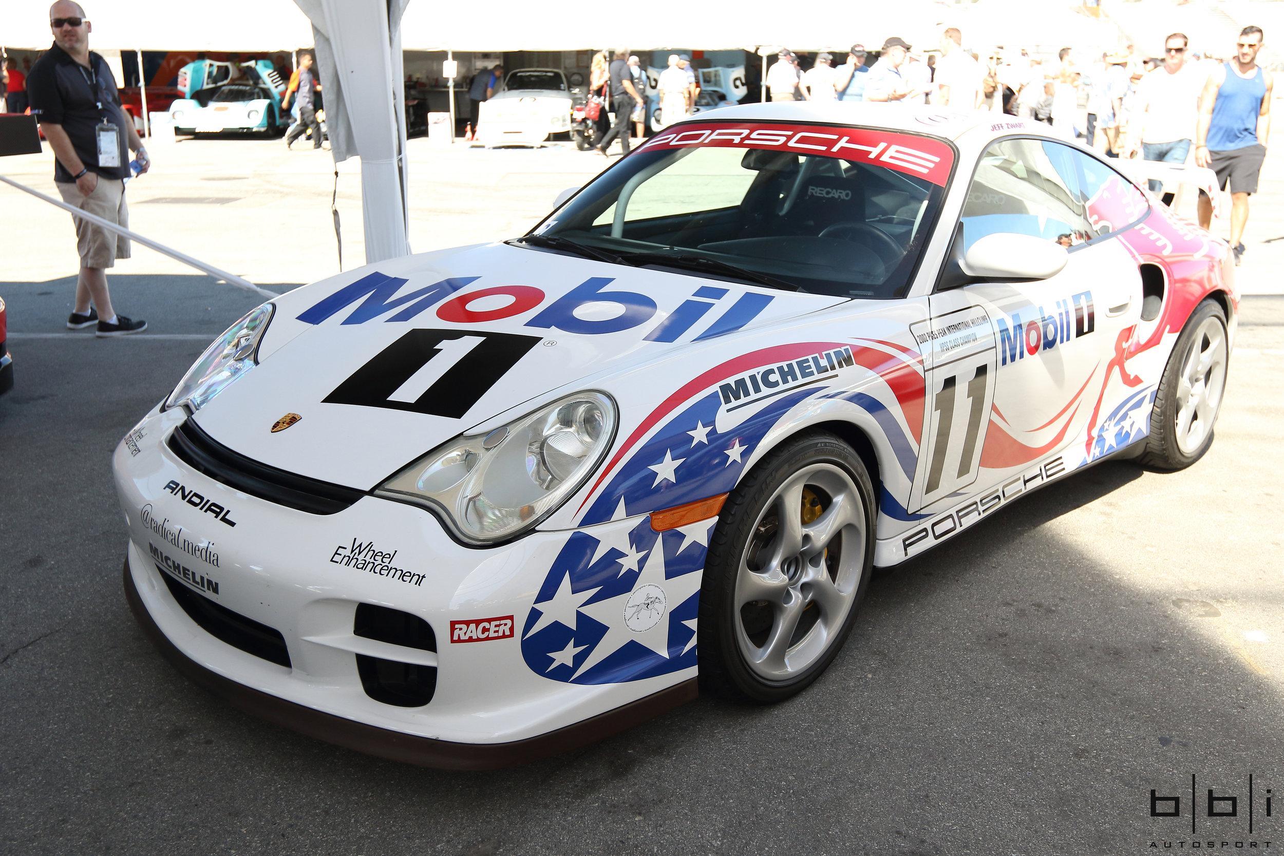 Jeff Zwart's Andial Built 996 GT2 Pikes Peak Winning Car, Prepped by BBi Autosport