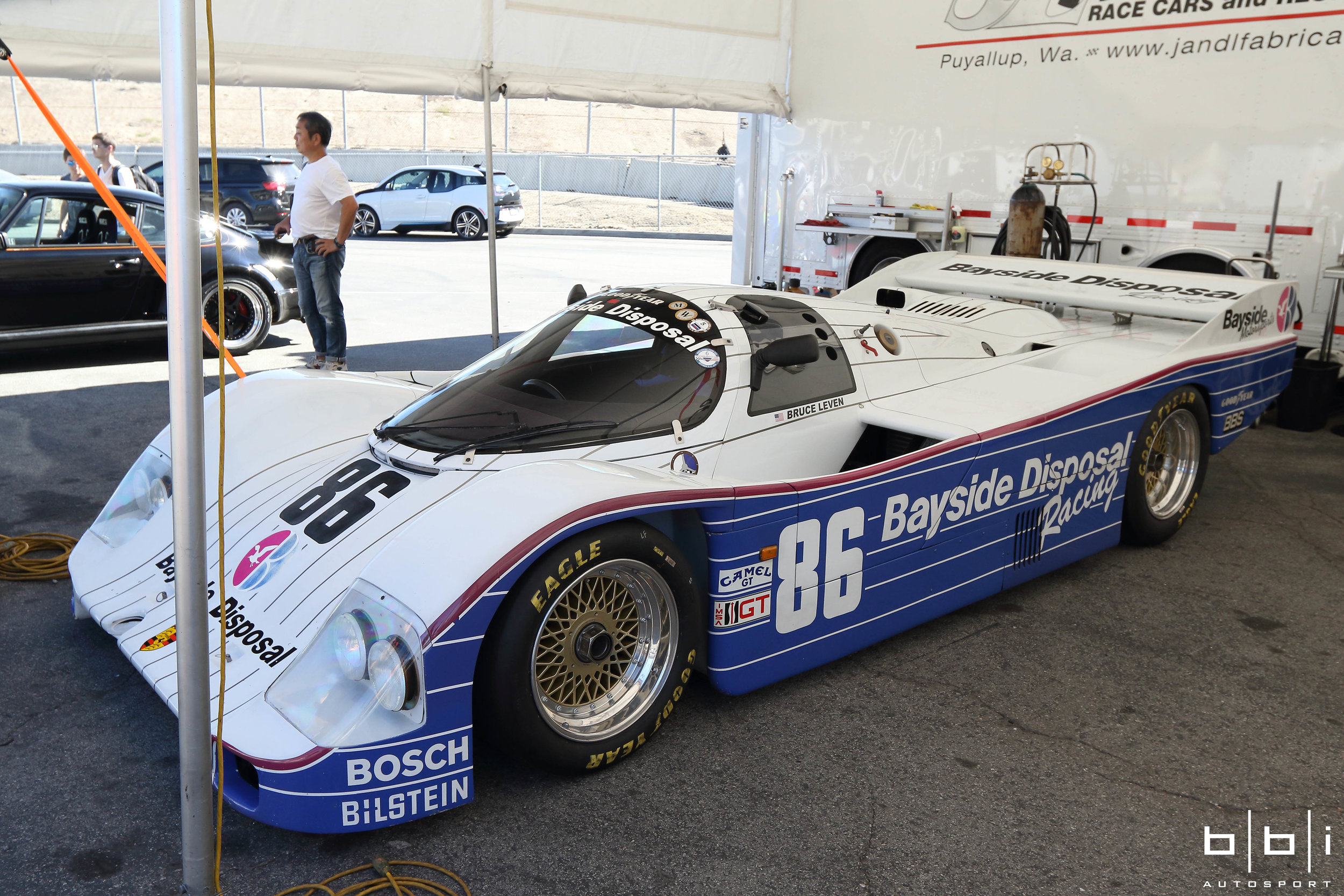 #86 Bayside Disposal Racing Porsche Type 962