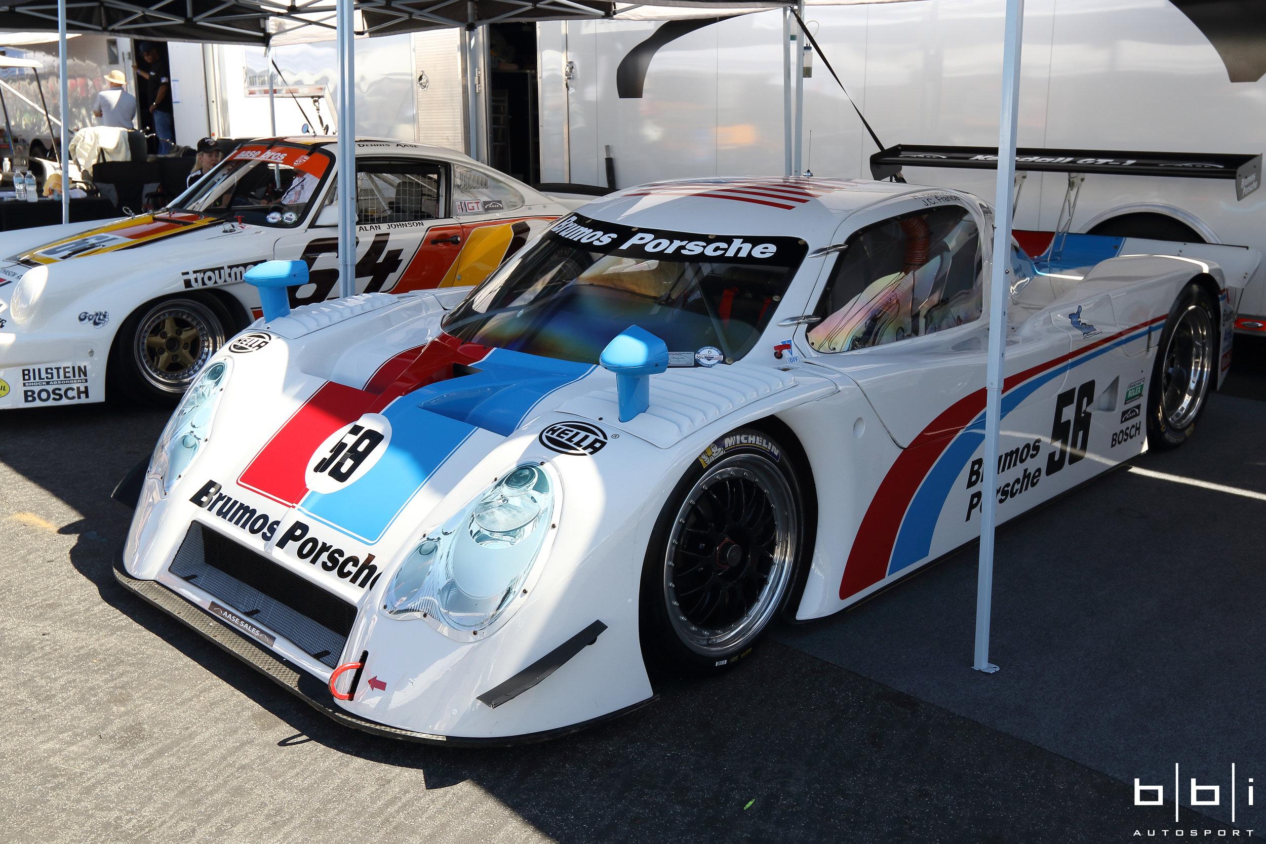 FABCAR-Porsche Daytona Prototype campaigned by Hurley Haywood, J.C. France, Scott Goodyear, and Scott Sharp for Brumos Racing
