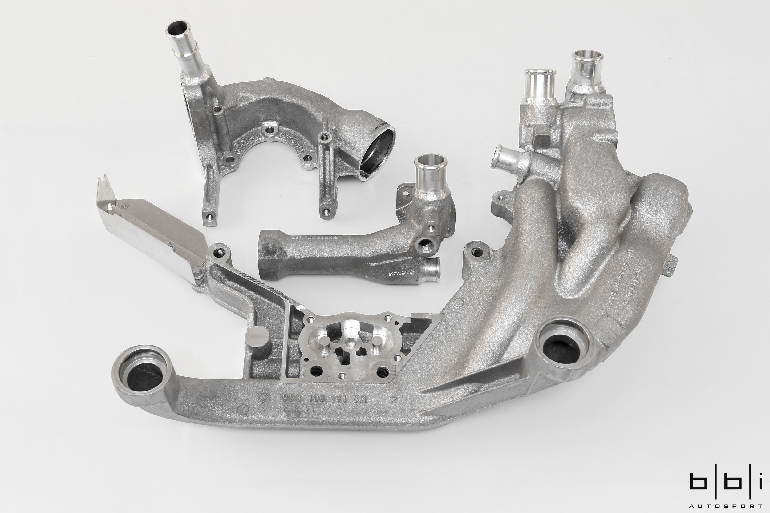 Coolant Housings with Newly Welded Fittings