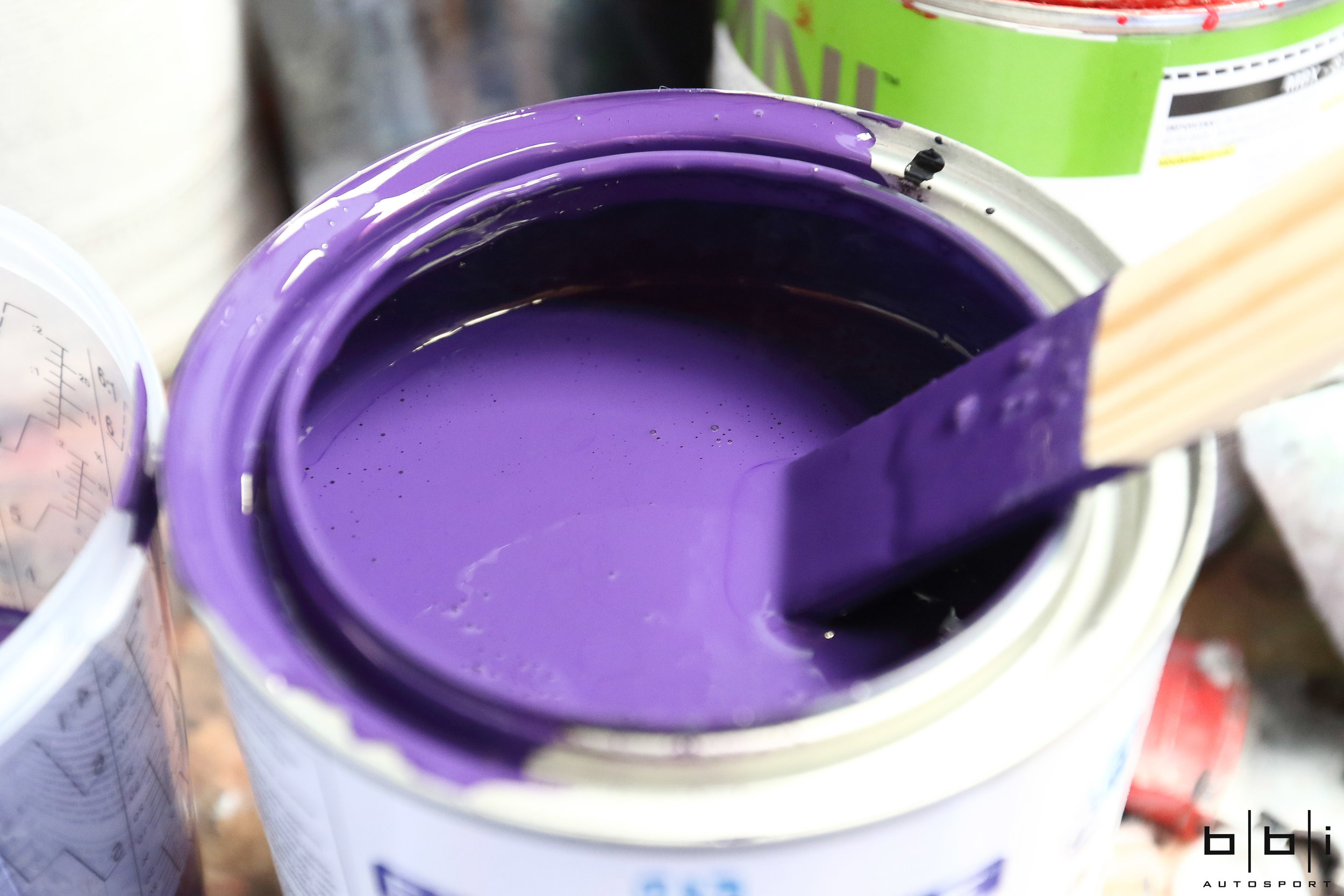 PPG Ultra Violet Base Coat