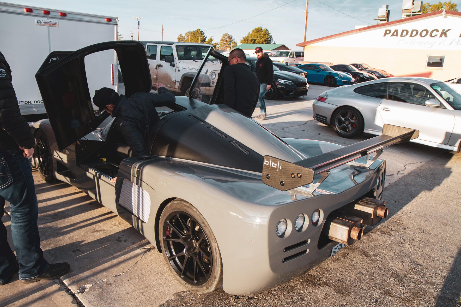 Ultima GTR, first run out.