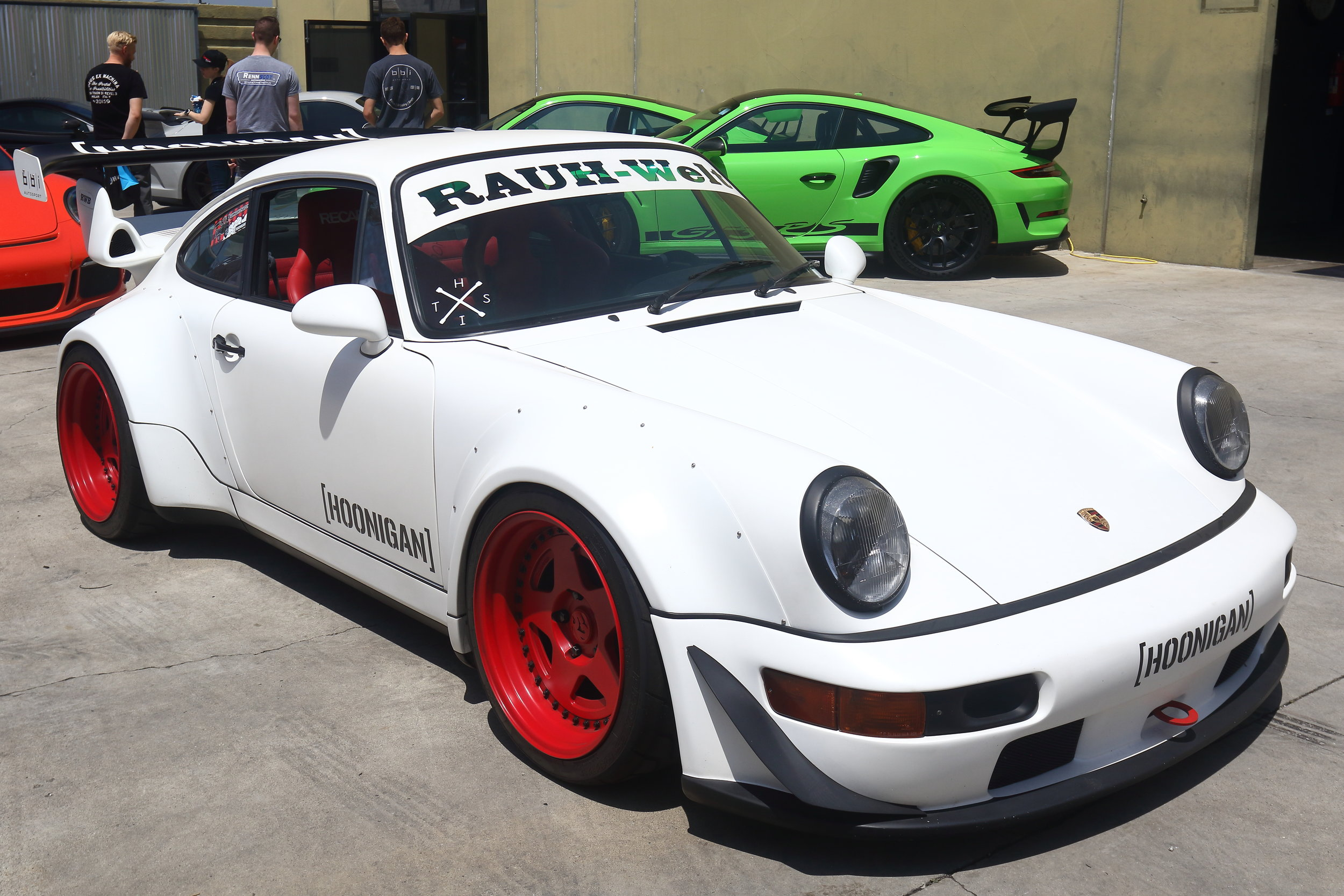 Hoonigan Brian Scotto's RWB Porsche 930 Turbo