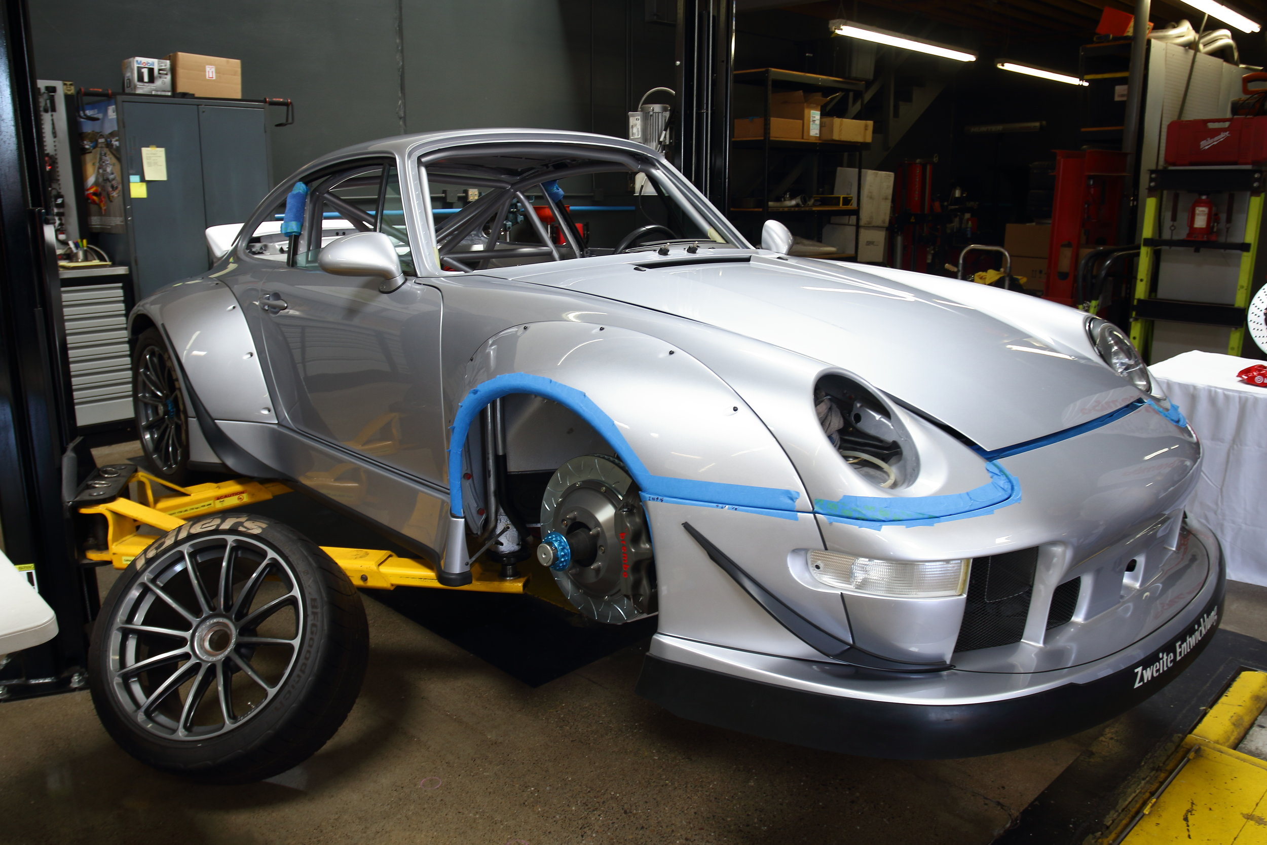BBi RWB Porsche 993 Project