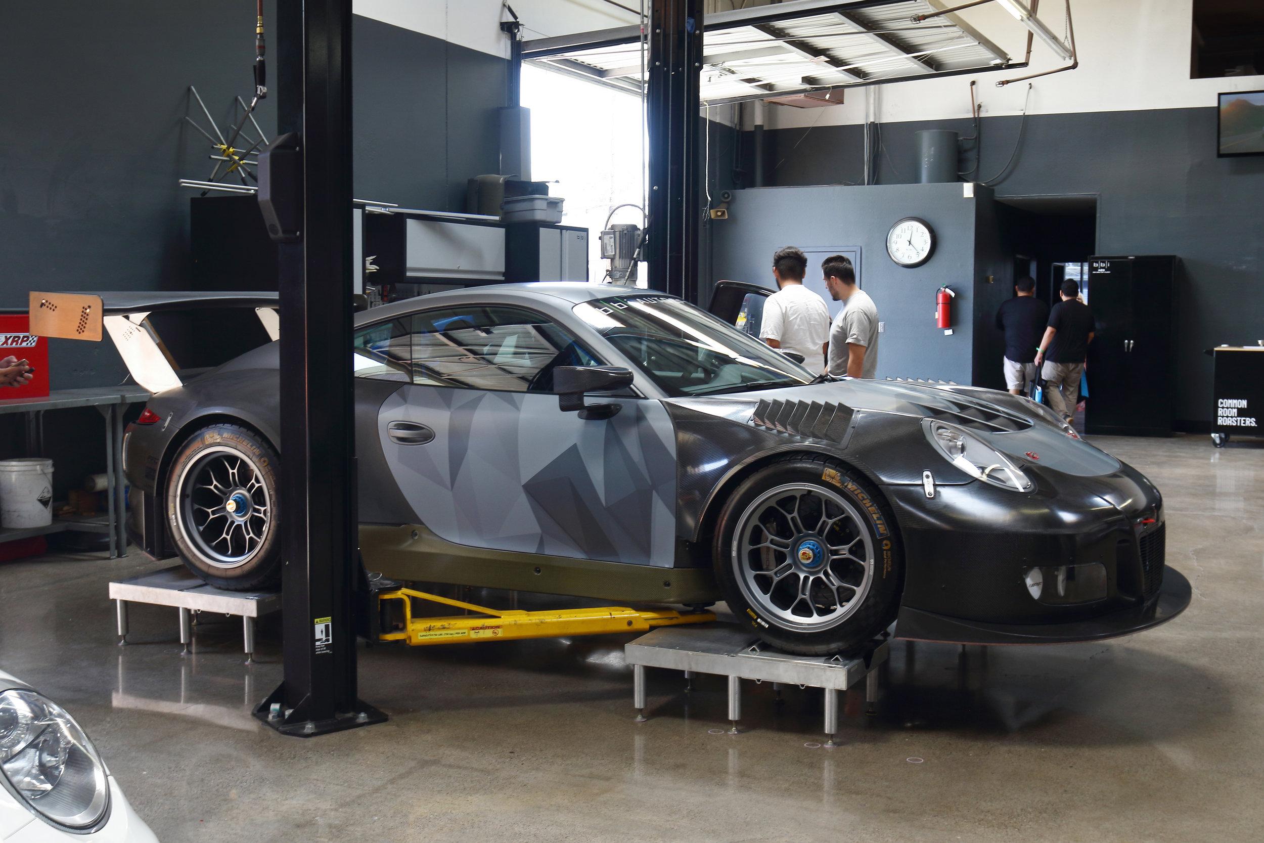 BBi Porsche 991 Street GT3 R Project