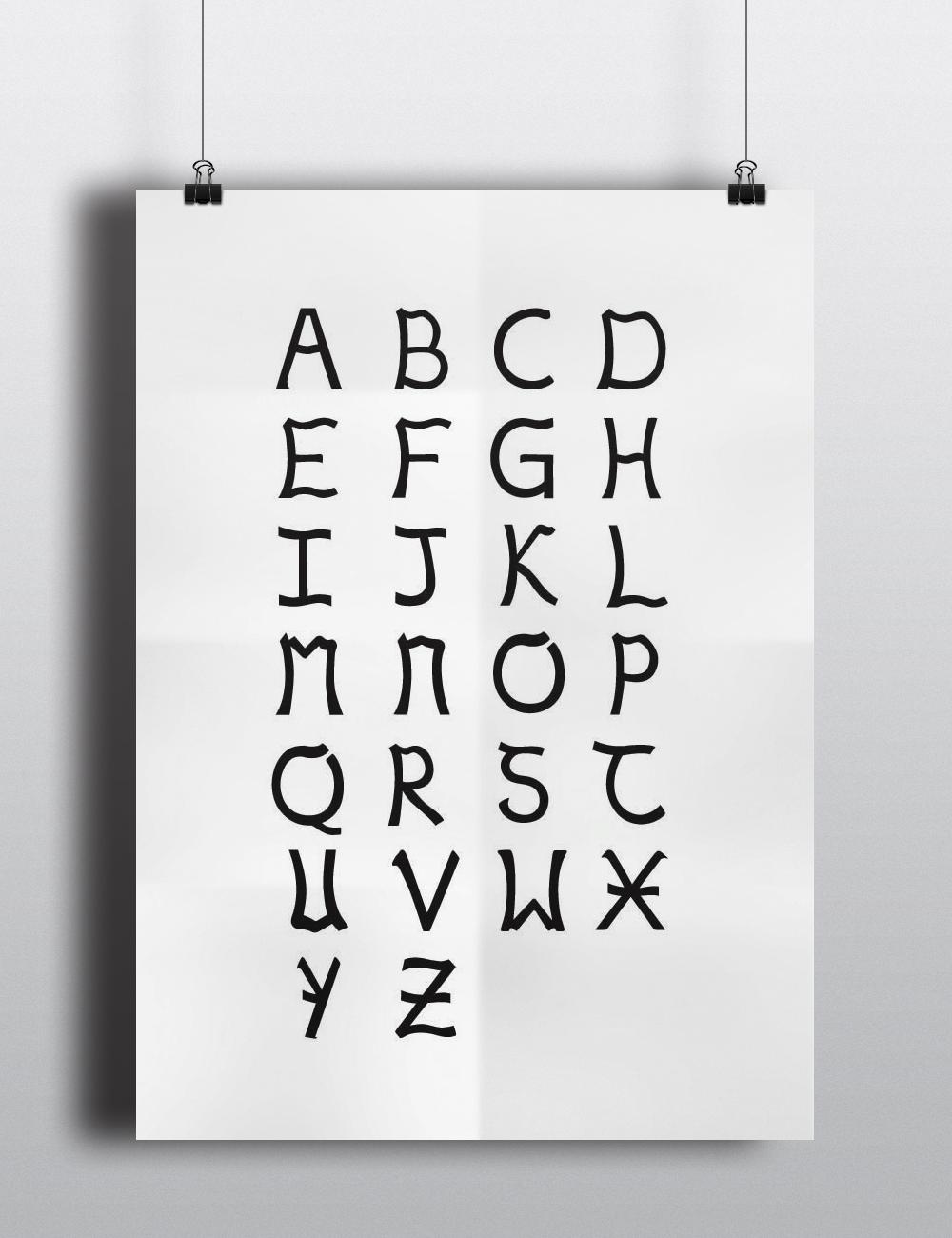 Facade Typeface Design