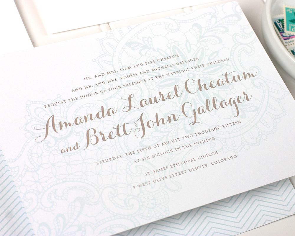 Lorelei Wedding Invitation