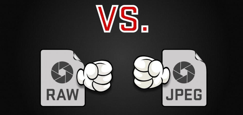 Raw vs JPEG image formats