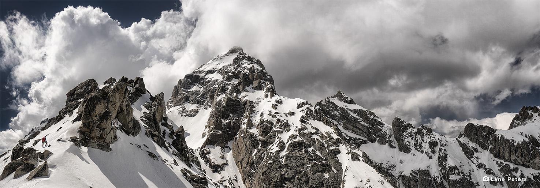 Panorama, Disappointment Peak, Grand Teton National Park