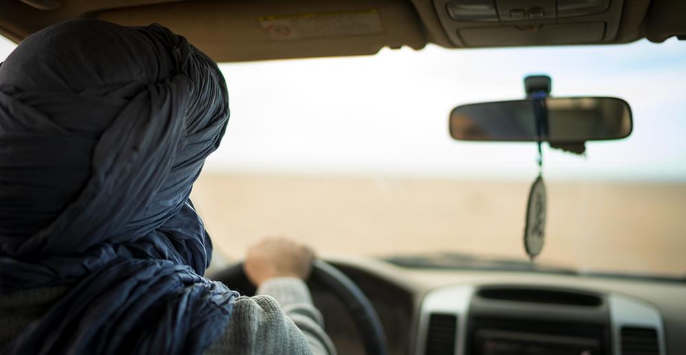 Sony 35mm F1.4 - Driving into the Sahara, Morroco