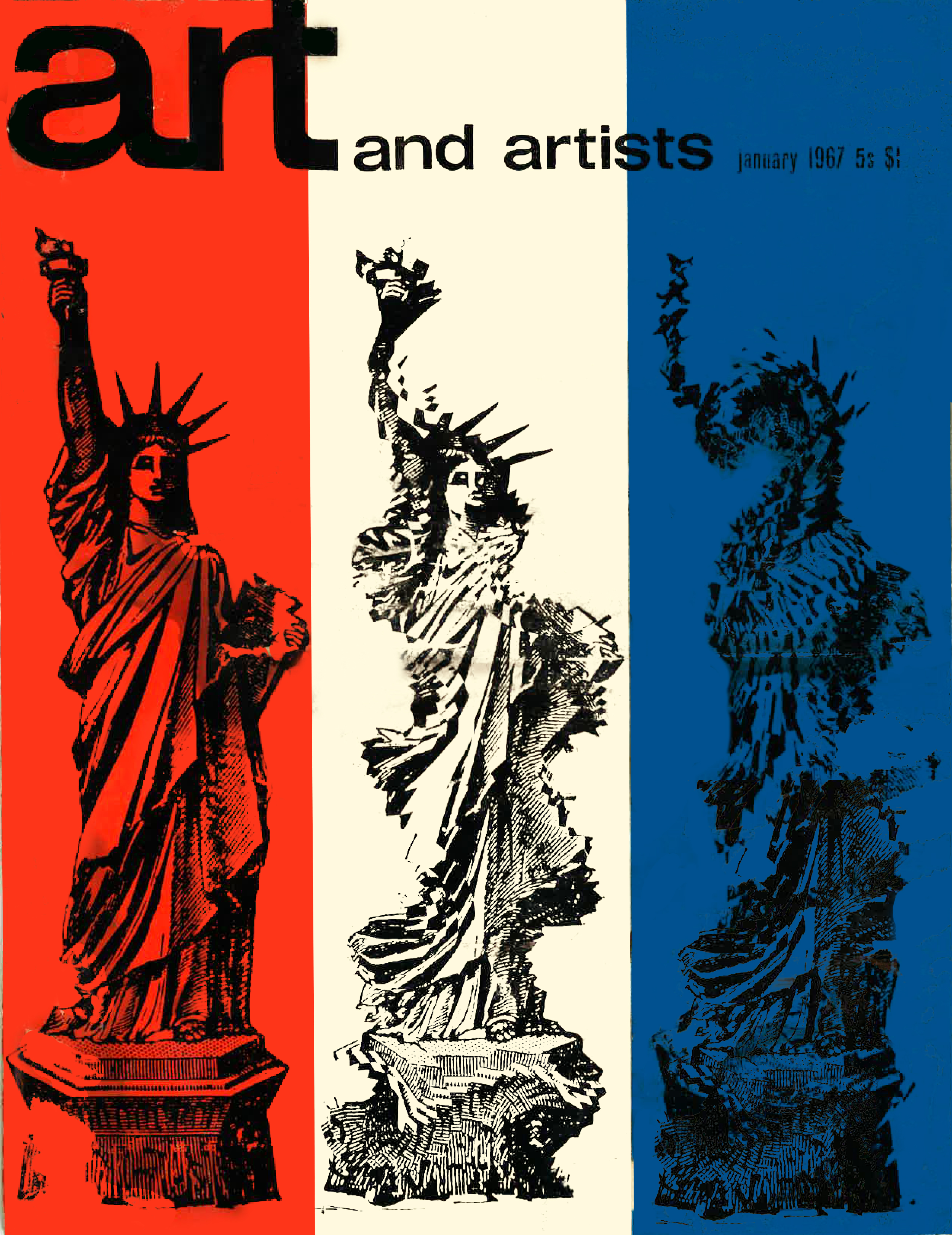 "Findlay, Michael. ""The Efficiency Game: Gerald Laing.""  Art and the Artists.  January 1967: p. 20-23."