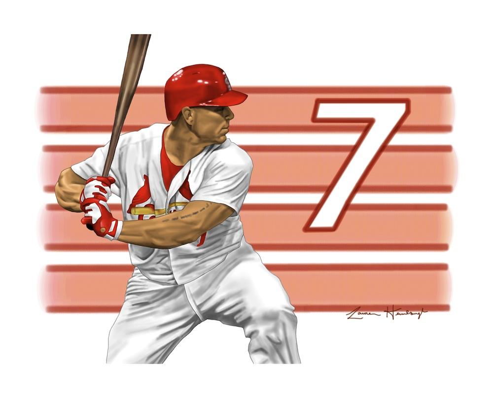Matt Holliday - Ex St. Louis Cardinals' Outfielder (2014)