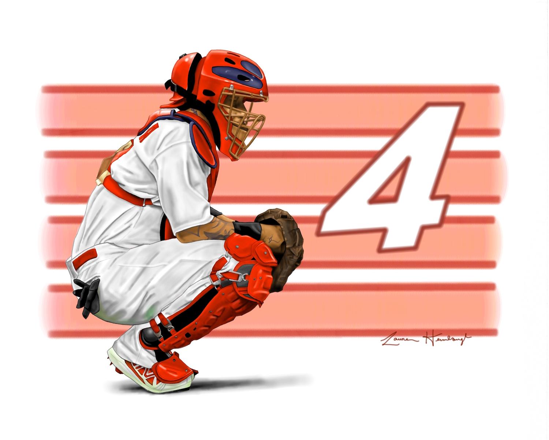 Yadier Molina - St. Louis Cardinals' Catcher (2014)