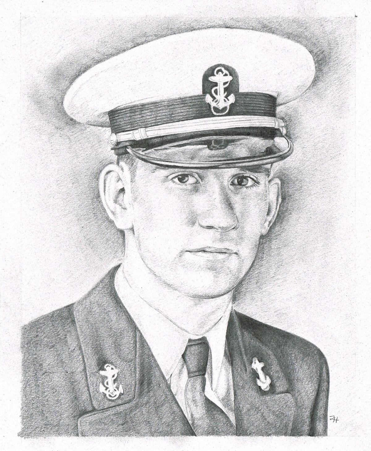Grandpa Ken in Navy Dress (2012)
