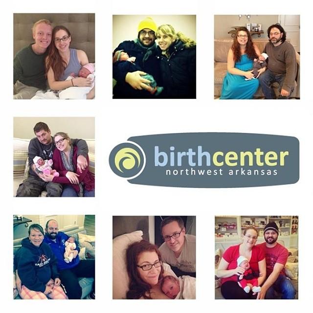 We 💚 our families! #birthcenter #RogersAR #northwestarkansas