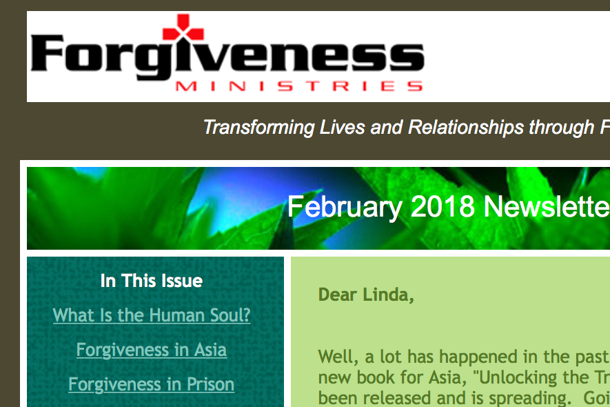 Receive our Newsletter -