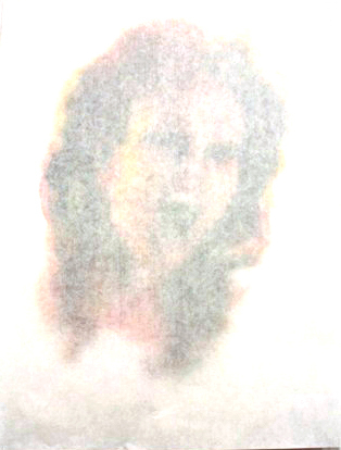 Shrouded  14x222, Acrylic