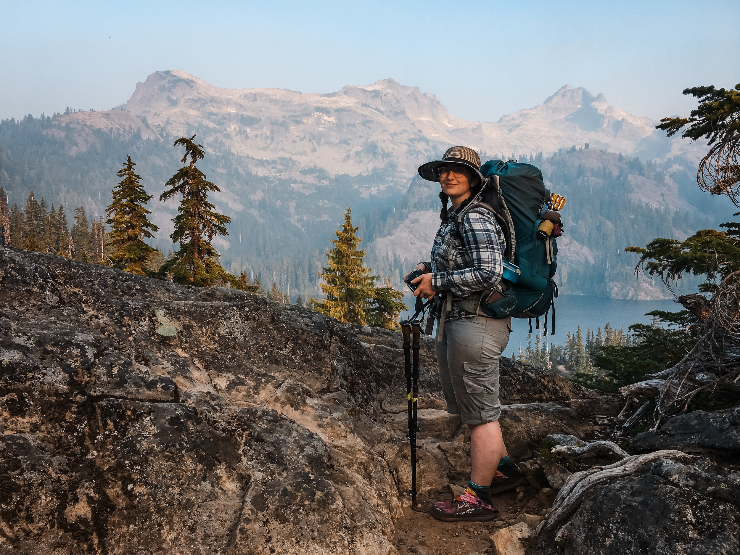 Days before I turned 30, on the tail end of our Pacific Crest Trail Hike. Photo credit 📷: @charmedneedle.