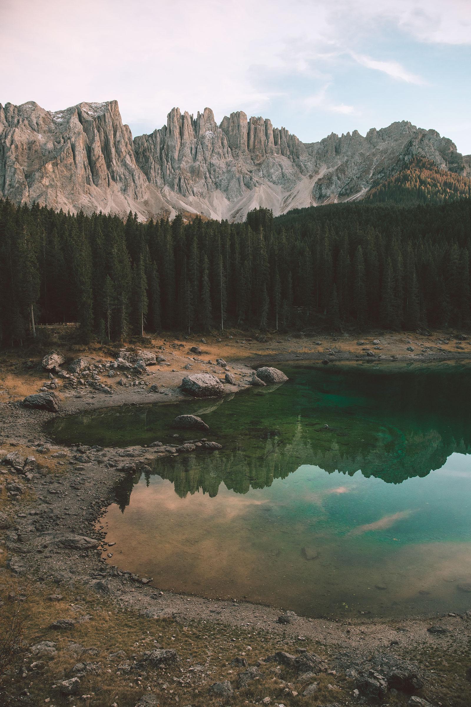 lago-di-carezza-lake-carezza-italy-the-dolomites-sunset-blue-water-october-2017.jpg