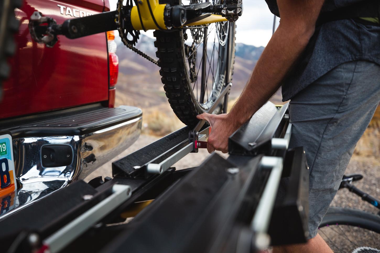 1up-usa-heavy-duty-double-black-bike-rack-pivot-sklar-toyota-tacoma-derek-salomonson-lift-release.jpg