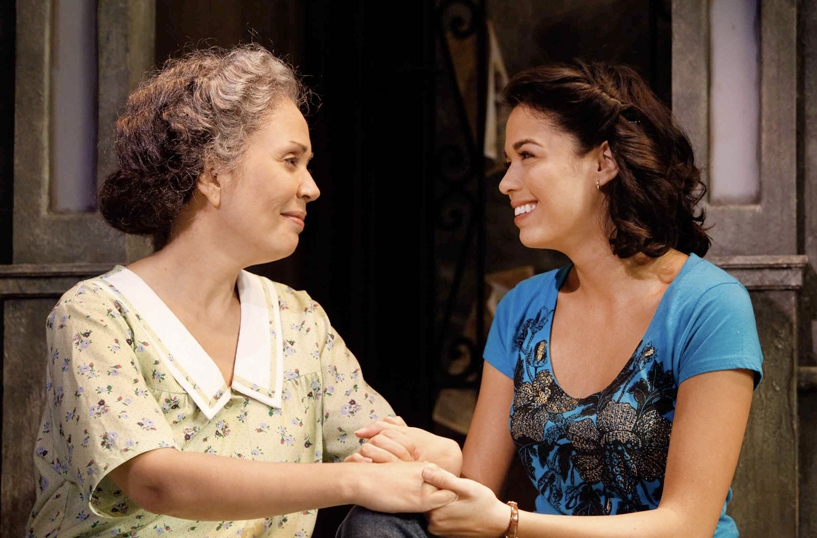 Jacobs, with Elisa Santora, in In The Heights