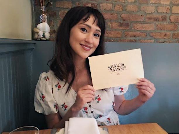Author Stephanie Mieko Cohen at Shalom Japan