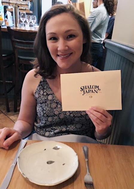 Hapa Sister, Marissa, at Shalom Japan