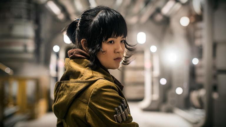 Rose Tico, played by Kelly Marie Tran