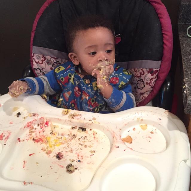 Birthday cake and ice-cream @tinasabcchildcare