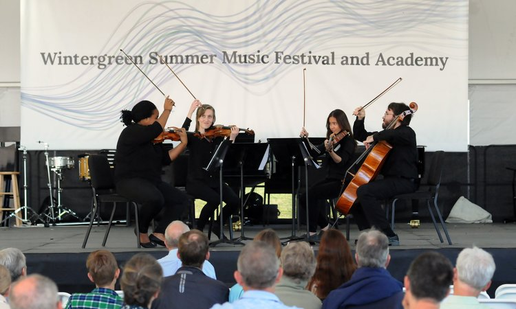 Wintergreen Summer Music Festival  - July 8th-August 5th | times vary  Wintergreen Resort:39 Mountain Inn Loop Nellysford, VA 22958You'll hear classical, jazz, pop, and Broadway, plus there are cooking classes, seminars, and concerts at neighborhood wineries, cideries, and breweries!