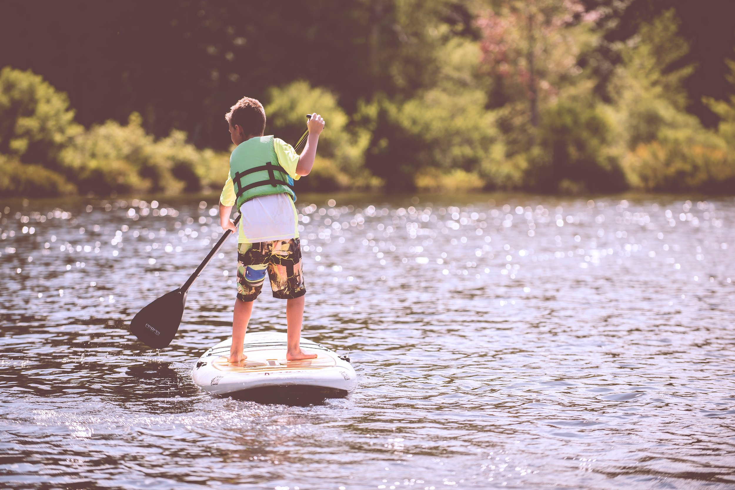 Water Activities - Lynchburg, VA has so many beautiful waterfalls to enjoy and swim in as well as lakes to go canoeing, kayaking, paddleboarding, tubing, or paddleboating. Here's a list of some places to have summer fun!