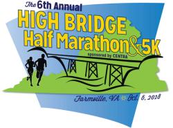 High Bridge Half Marathon & 5k - Saturday, October 6Farmville, VA